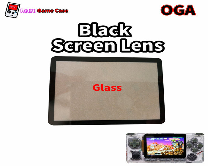 Glass Screen Lens for Odroid Go Advance fits both Original and Black Edition