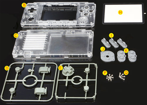 Cases, buttons kit for ODROID-GO ADVANCE V 1.0