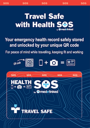 The Health Emergency SOS Card