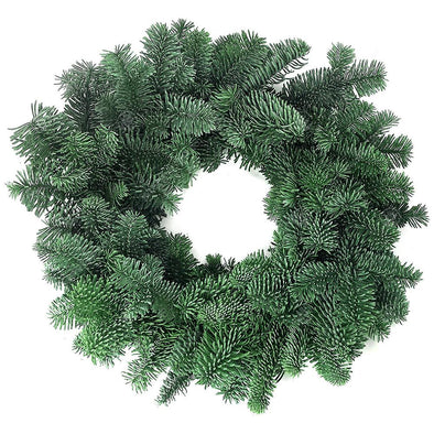 "DIY Real Noble Fir Christmas Wreath  (12"", 30cm) - Christmas Trees Direct"