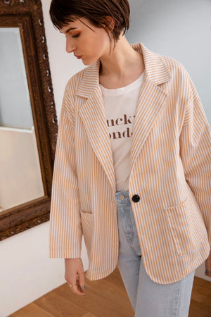 sun stripe jacket
