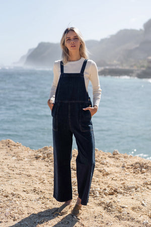 basic denim overalls