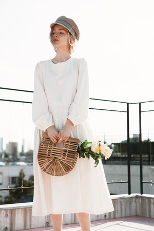 〈OUTLET品〉white dress