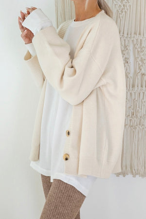 〈再入荷〉soft knit cardigan - ivory