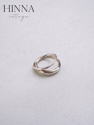 delicate double rings