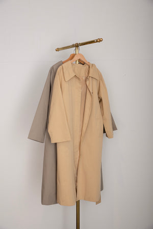 long trench coat(beige)