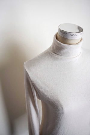 Fingerless High Neck Turtleneck Tops