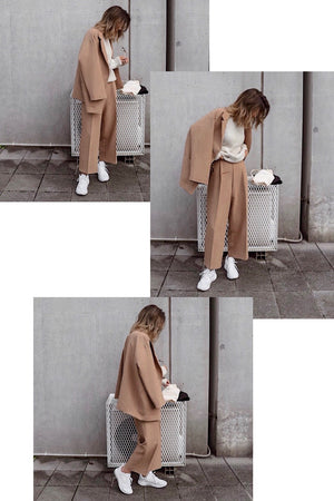 〈再入荷〉jacket × pants Co-ord