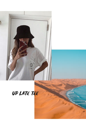 Up Late Tee - Champion - HINNA T × Hiraparr Wilson
