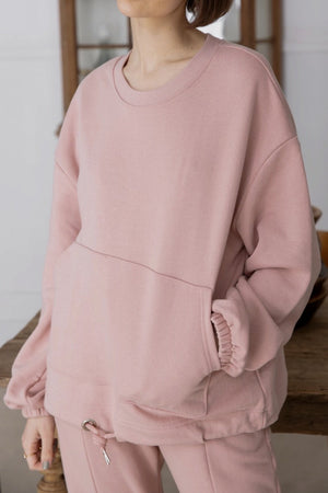 〈再入荷〉sweat setup (pink)