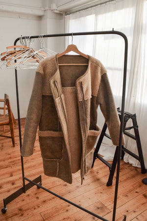 〈再入荷〉LONG MOUTON COAT
