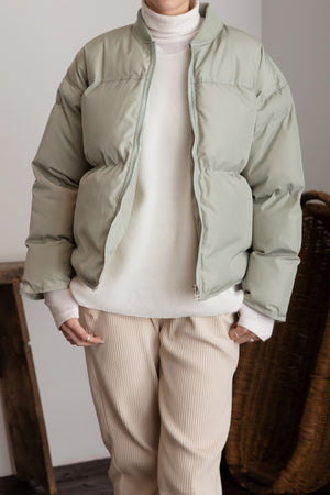 〈再入荷〉eco down jacket (mint)