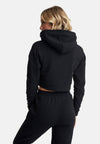 Cropped Hoody Black