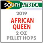 African Queen Hops Pellets 2 Oz