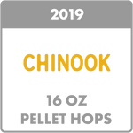 CHINOOK HOP PELLETS (16OZ / 1 POUND)