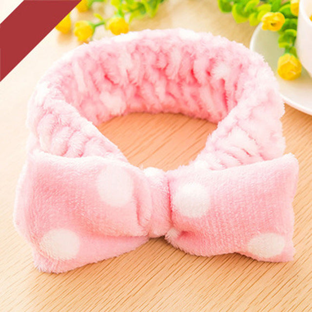 Elastic Headband For Bath Shower
