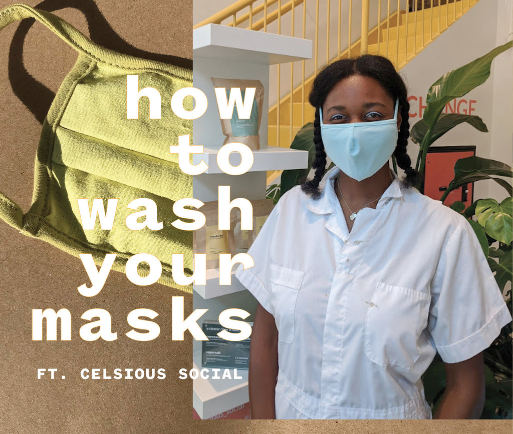 How To Wash Your Masks?