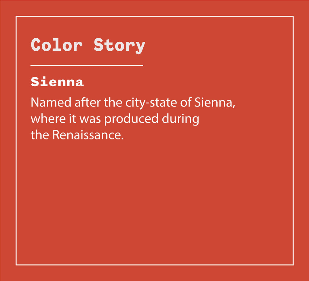 Color Story - SIENNA