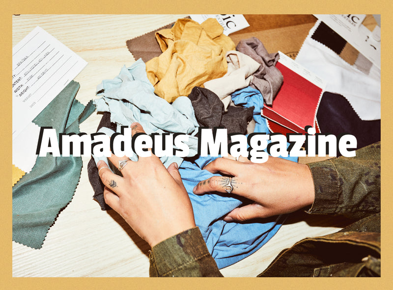 AMADEUS MAGAZINE STORE VISIT X INTERVIEW