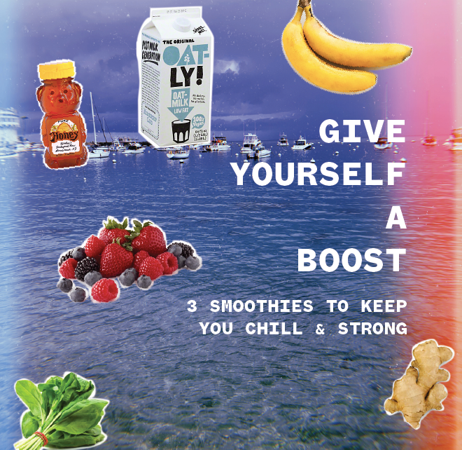 3 Smoothies to Keep You Chill & Strong
