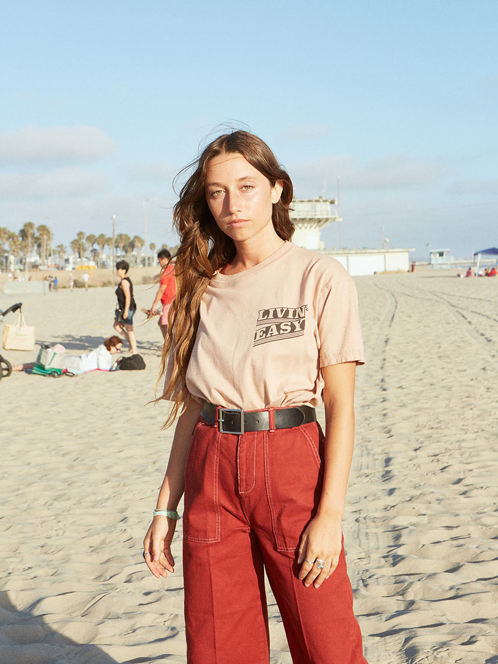 Livin' Easy Organic Cotton Band Tee