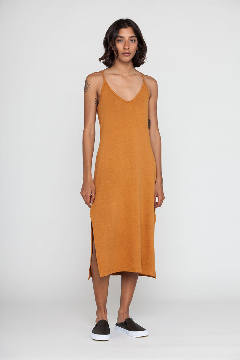 Cami Midi Recycled Cotton Dress