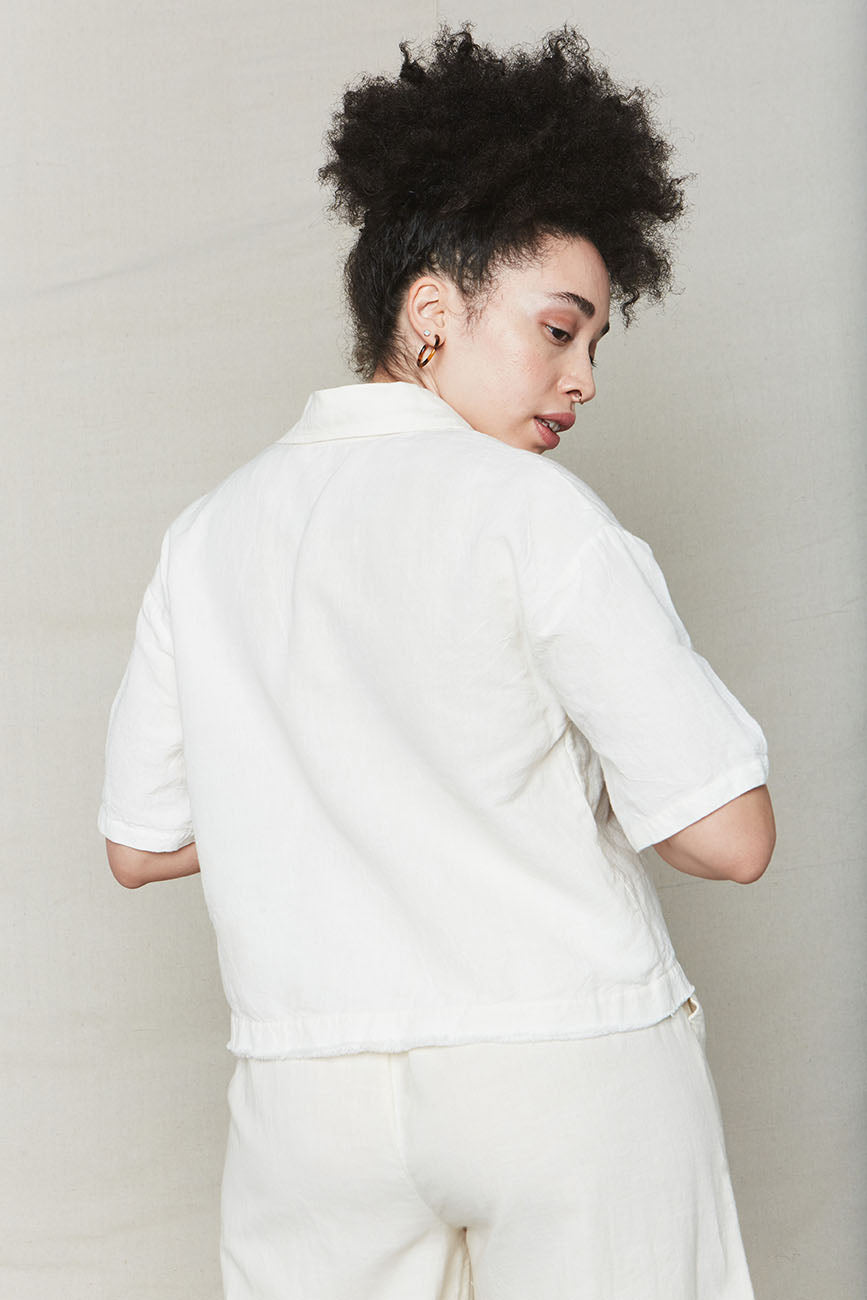 Natural Plant Dyed Bowling Shirt