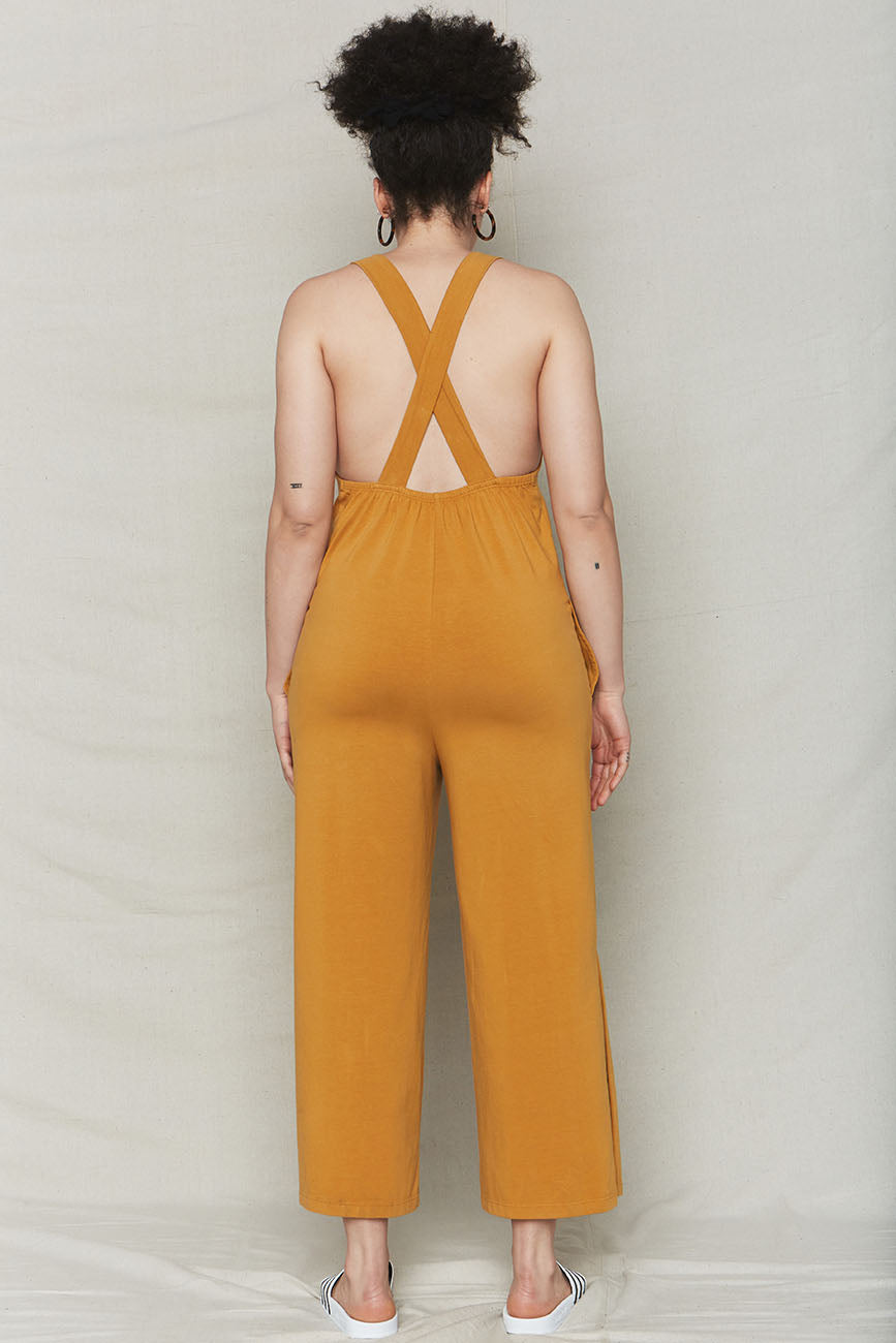 Golden Organic Cotton Easy Jumpsuit