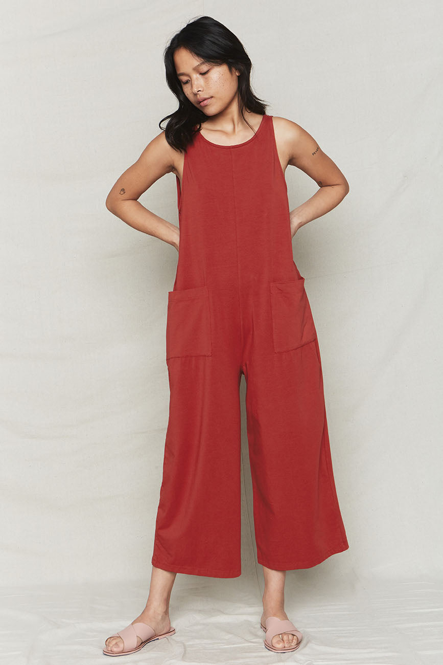 Sienna Organic Cotton Everyday Jumpsuit