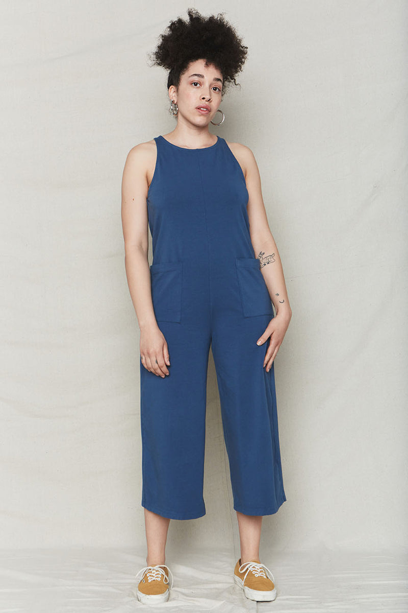 Ocean Organic Cotton Everyday Jumpsuit