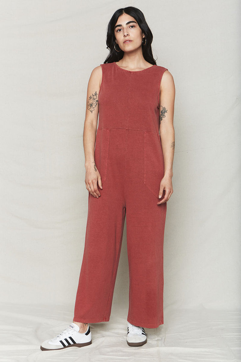Hemp Patch Reversible Jumpsuit