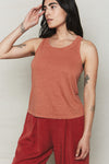 Hemp Double Band Tank
