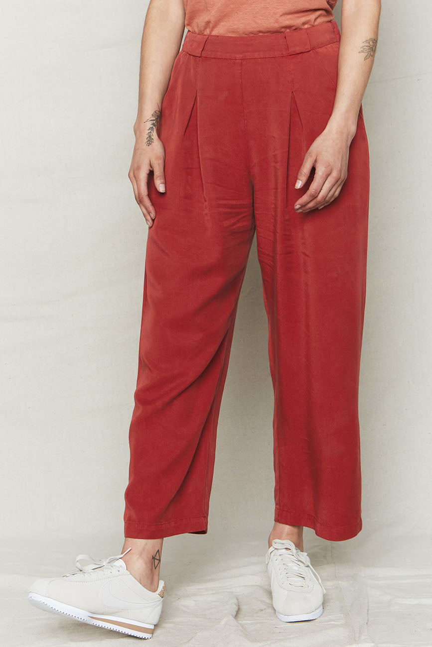 Sienna Tencel Pleat Pants