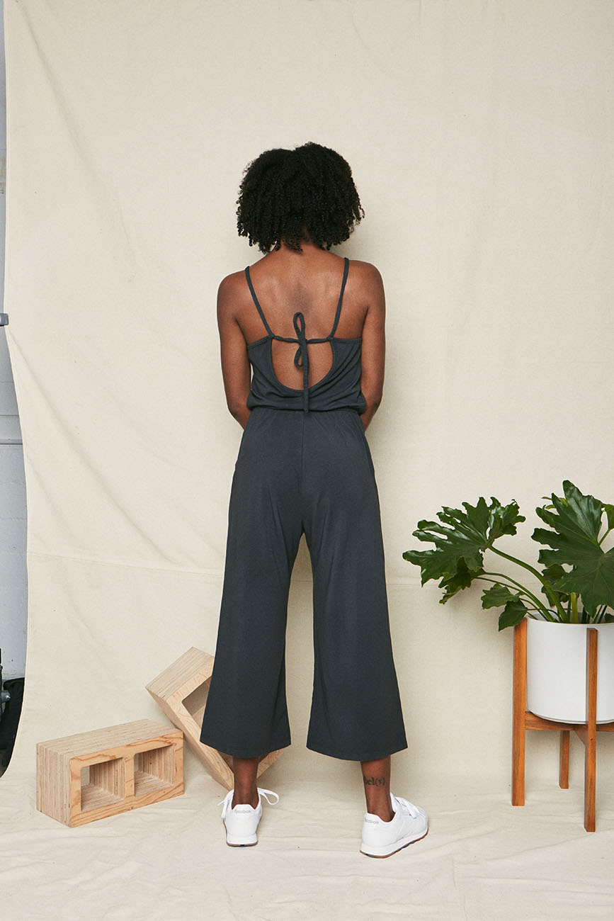 back organic cotton high neck jumpsuit 3