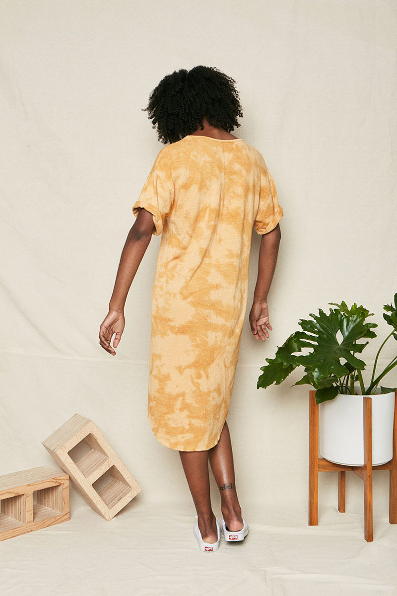 RECYCLED COTTON GOLDEN TIE DYE 4