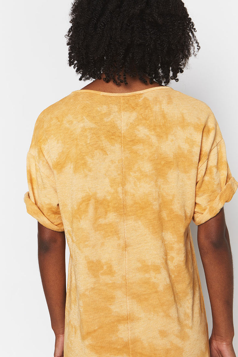 RECYCLED COTTON GOLDEN TIE DYE 1