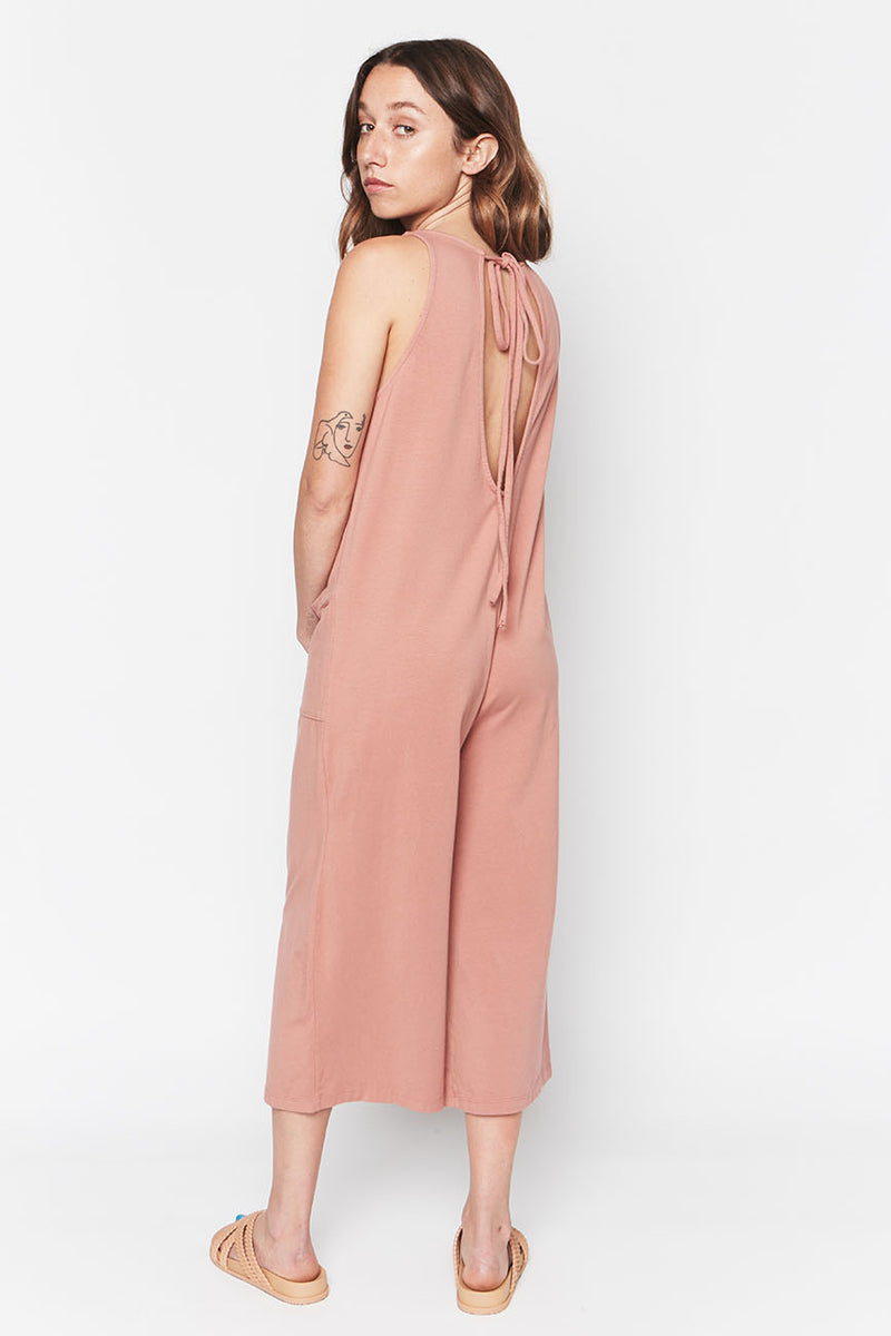 Pink Organic Cotton Everyday Jumpsuit 2