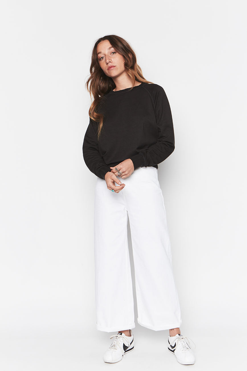 Tencel Cropped Sweatshirt 4
