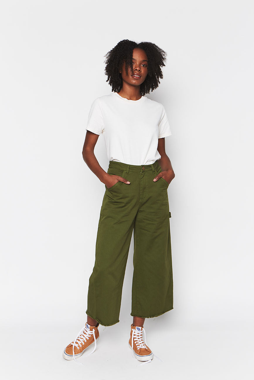Organic Cotton Pants Green 6