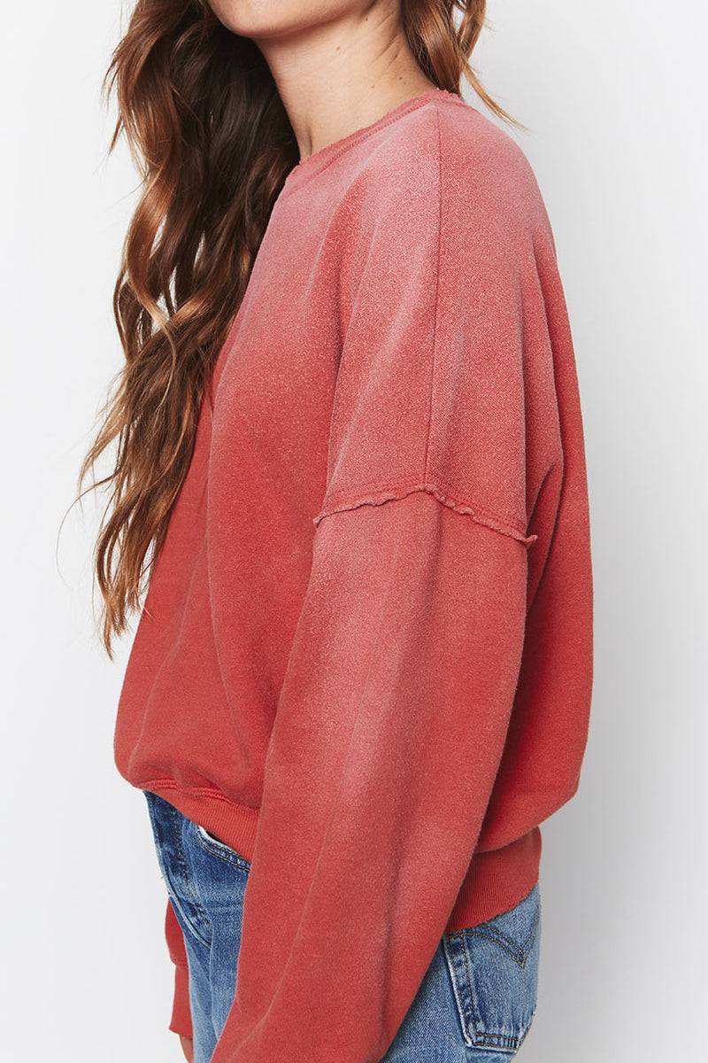 Hemp Sweatshirt Red