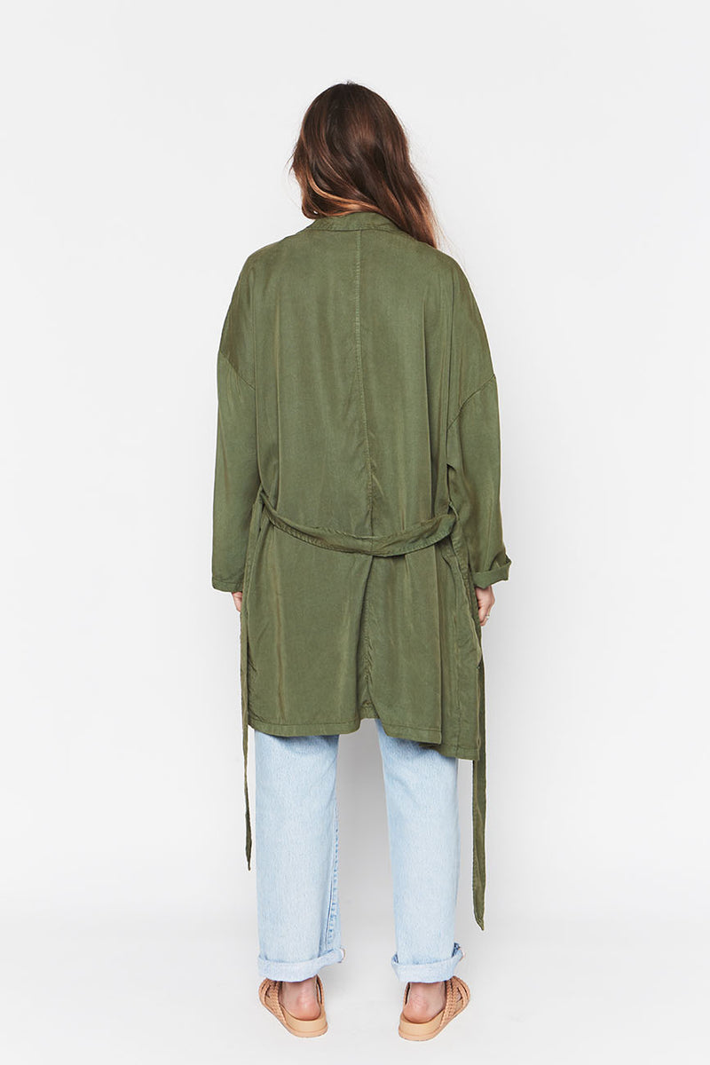LEAF TENCEL EASY JACKET 3