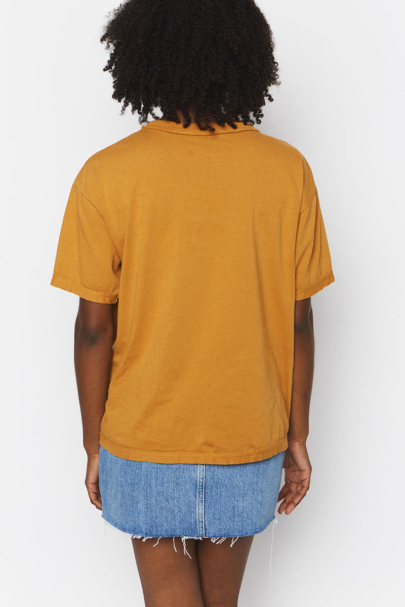 Ochre Organic Cotton Band Tee