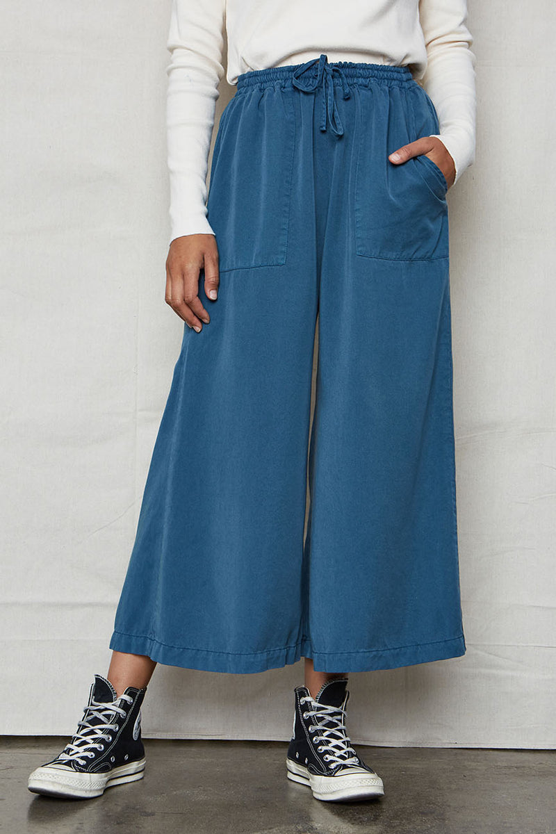Ocean Tencel Easy Pants - Back Beat Rags