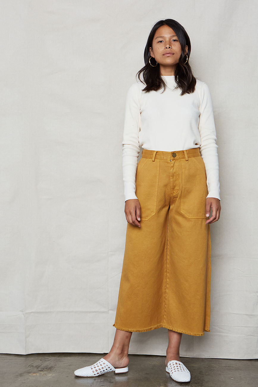 Golden Hemp Utility Pants - Back Beat Rags