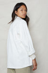 White Hemp Utility Jacket - Back Beat Rags