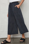 Vintage Black Tencel Easy Pants - Back Beat Rags