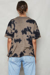 Tie Dye Tomboy Hemp Tee - Back Beat Rags