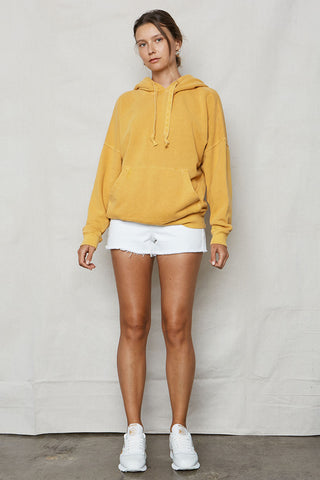 Golden Hemp Sweater Robe
