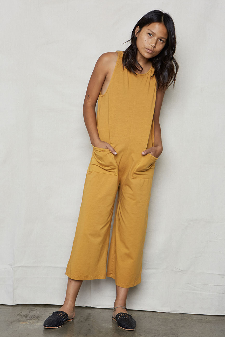 Golden Organic Cotton Everyday Jumpsuit