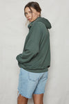 Sage Hemp Oversized Hoodie - Back Beat Rags